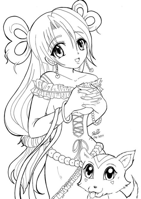 Coloring Ideas by Extraordinary Ideas Anime Coloring Pages For Adults 14