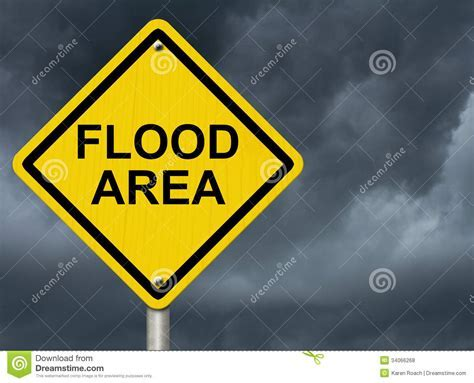 Flood Warning Royalty Free Stock Photos   Image: 34066268