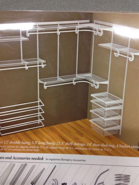 closetmaid white wire closet for master closet and the