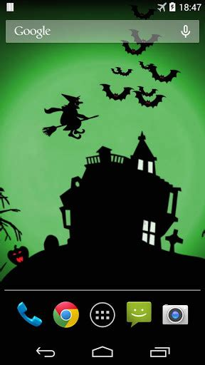 Halloween Live Wallpaper For Android  Free Download