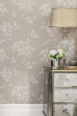 butterfly trail wallpaper  paper wall  bed