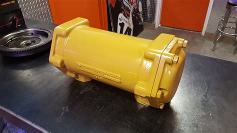 Caterpillar Shell & Tube Liquid To Oil Cooler Repair