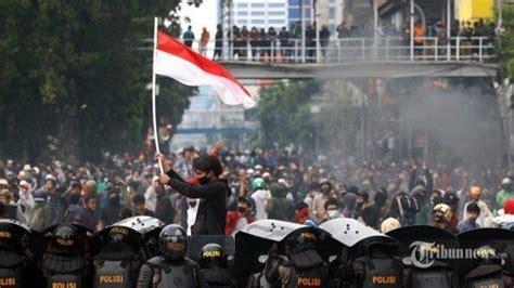 situasi demo  jakarta  november  unjuk rasa besar besaran  kompastv