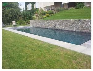 amenagement paysager autour d39une magnifique piscine With amenagement autour piscine bois 8 le bon bain