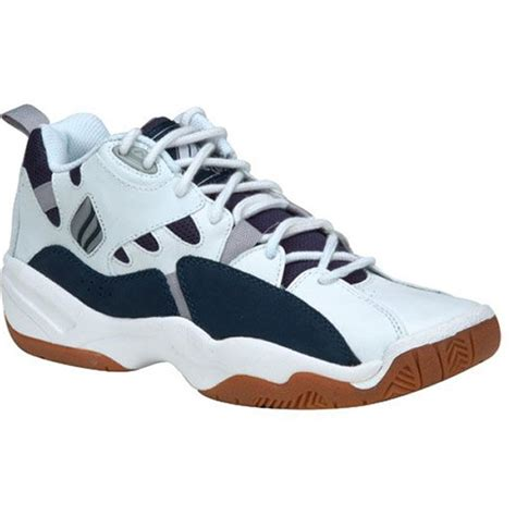 ektelon mens nfs classic mid racquetball white navy   tennis