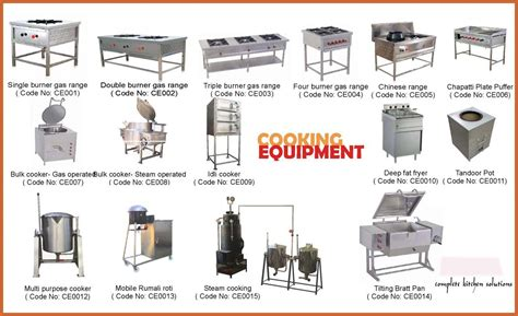 equipement cuisine commercial kitchen equipment list crowdbuild for