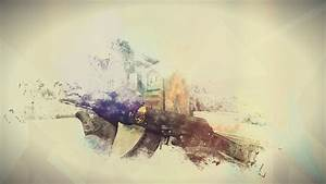 Counter Strike: Global Offensive, AK 47, Minimalism HD ...