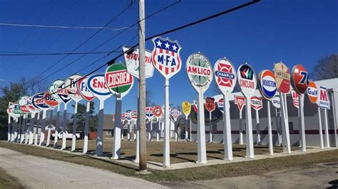 gas station garden signs whiteland brewer indiana street johnson township county