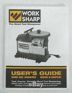 work sharp ws wood tool sharperner  rpm  volt