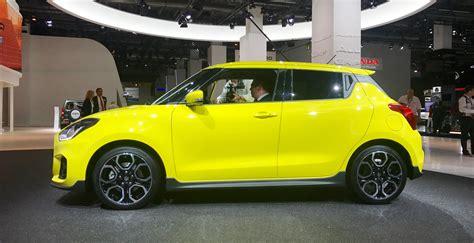 2018 Suzuki Swift Sport Details