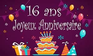 Carte Anniversaire Fille 9 Ans : image anniversaire 16 ans ~ Melissatoandfro.com Idées de Décoration
