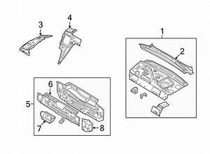 Ford Focus Bumper  Bracket  Reinforcement  Extension  Bar