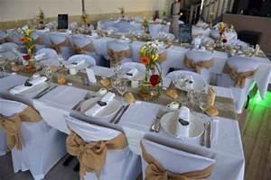 Déco Mariage Champetre : noeuds de chaises en toile de jute mariage champ tre ~ Melissatoandfro.com Idées de Décoration