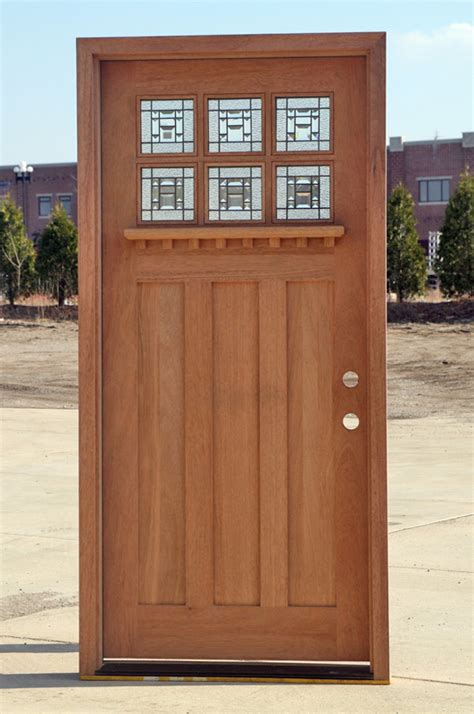 mission style front door craftman style front doors on clearance