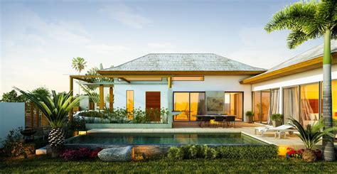 Tropical Home :  Tropical Homes Design With Relaxing Ambiance