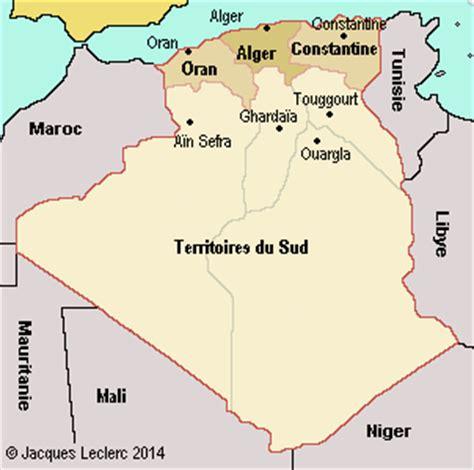 au sujet des départements français moments algérie données historiques