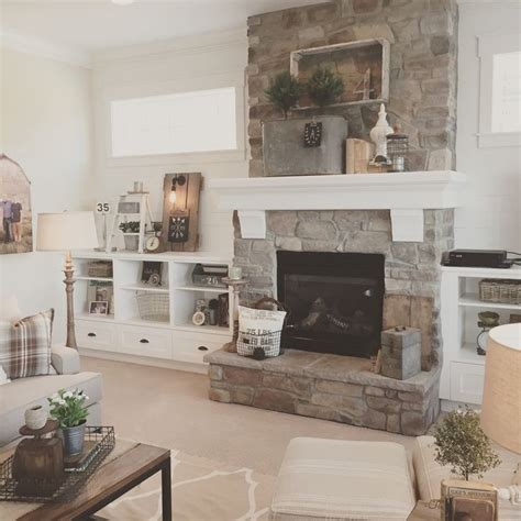 farmhouse fireplace white plank walls surround this fireplace for a Modern
