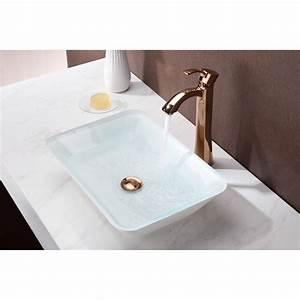 Amenta Series Vessel Sink In White