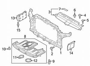 Kia Soul Radiator Support Side Panel  Right   Cover