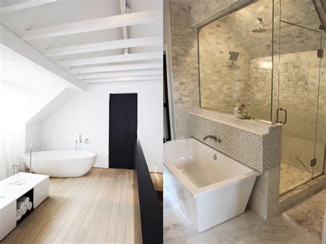 43 Useful Attic Bathroom Design Ideas