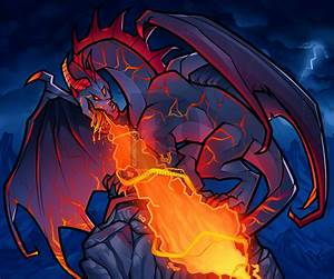 Lightning Dragons Vs Fire Dragon | www.pixshark.com ...