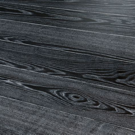 Kahrs Shine Ash Black Silver Wood Flooring   Engineered