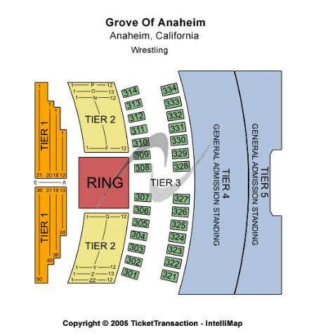 grove  anaheim    grove  anaheim seating chart buy  grove  anaheim