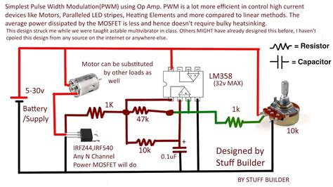 How Build The Simplest Pwm Pulse Width Modulated