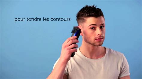 Tuto coupe homme  Side Swept avec du00e9gradu00e9 - YouTube
