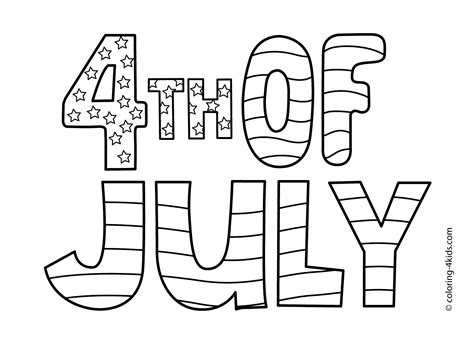 printable independence day coloring pages holiday vault