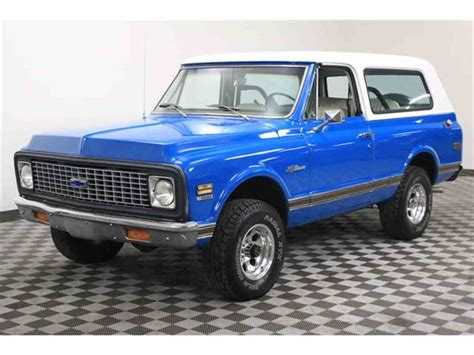 Chevrolet Blazer For Sale by 1971 Chevrolet Blazer For Sale Classiccars Cc 992971