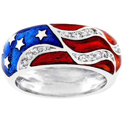 Cubic Zirconia 925 Sterling Silver American Flag With Red. Platinum Engagement Rings. Precious Engagement Rings. Unusual Wedding Wedding Rings. Mens Cable Wedding Wedding Rings. Southern Rings. Million Pound Engagement Rings. Side Rings. Large Finger Wedding Rings