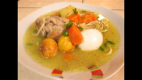Caldo De Gallina (comida Peruana)