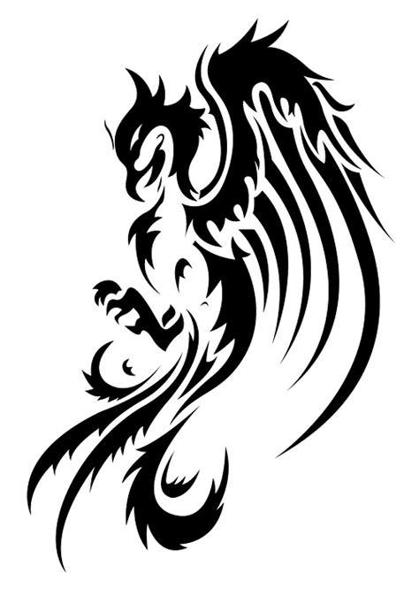 15 beautiful Tribal Phoenix Tattoos | Only Tribal