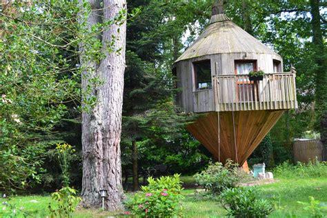 chambre cabane dans les arbres cabane dans les arbres arbonne la foret seine et marne