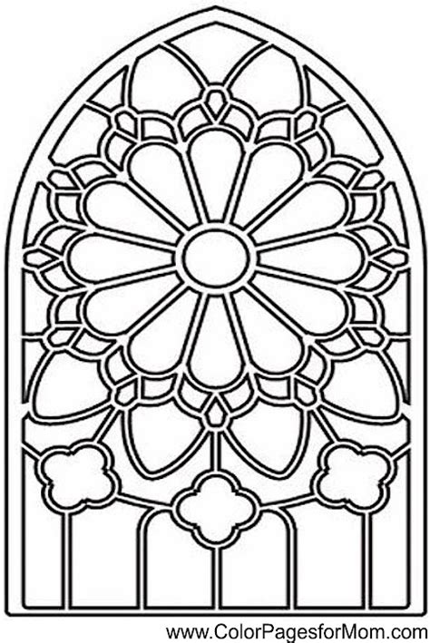 advanced coloring pages stained glass coloring page