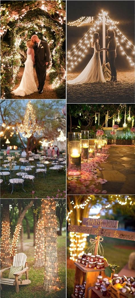 40 Romantic And Whimsical Wedding Lighting Ideas Deer