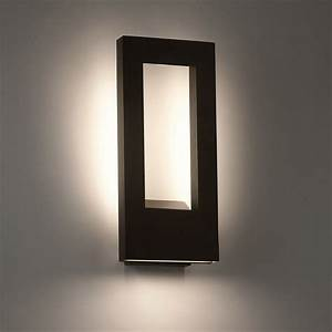 twilight led outdoor wall sconce by modern forms With led wall sconce