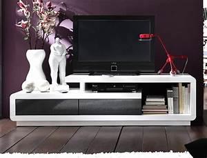 Tv Board Skandinavisch : lowboard celine 170x45x40 cm hochglanz wei grau tv board ~ Michelbontemps.com Haus und Dekorationen