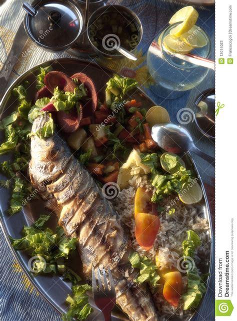 india goa palolem beach king fish stock