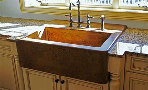 Concrete Farmhouse Sink Kitchen
