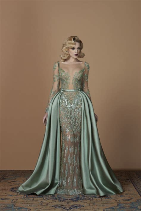 emerald green gown tumblr
