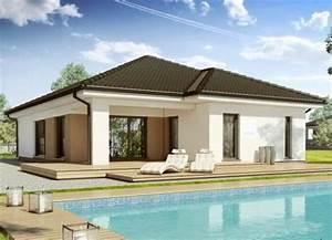 Haus Walmdach Modern : bungalow grundriss 140m2 die neuesten innenarchitekturideen ~ Indierocktalk.com Haus und Dekorationen