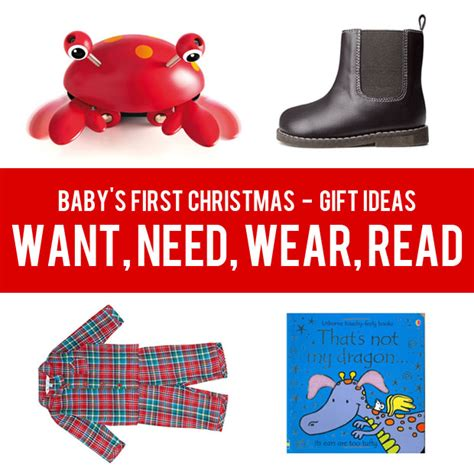 baby s first christmas gift ideas want need wear read