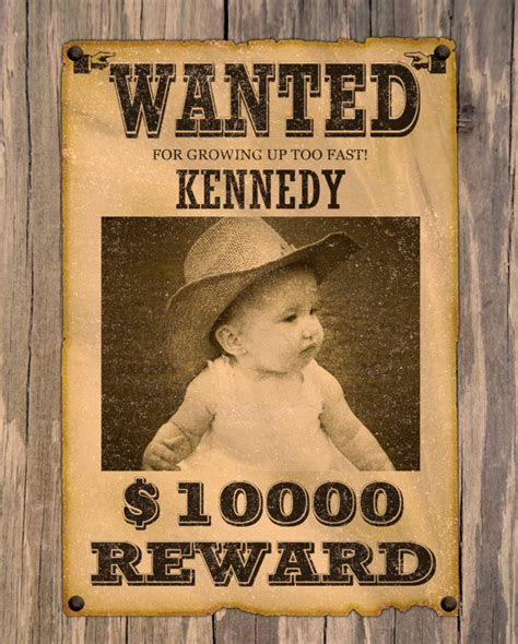 8 Best Images of Free Printable Western Wanted Posters ...