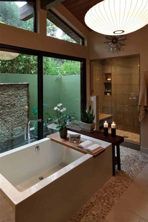 amazing mid century modern bathrooms  soak  senses
