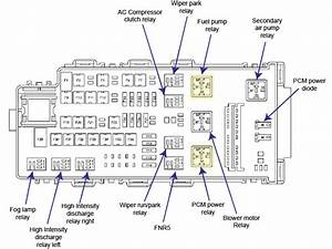 2008 Ford Fusion Relay Diagram