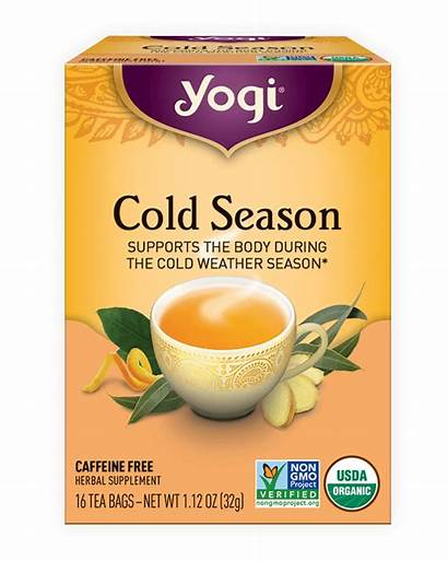 Tea Cold Season Yogi Herbal Teas Herbs