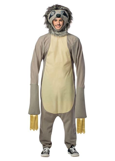 mens sloth costume animal costumes