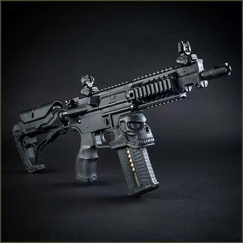 grip fab defense ar ar15 well mojo magazine handguards zahal skull mag handguard foregrip improved grips rifle gun m4 forward